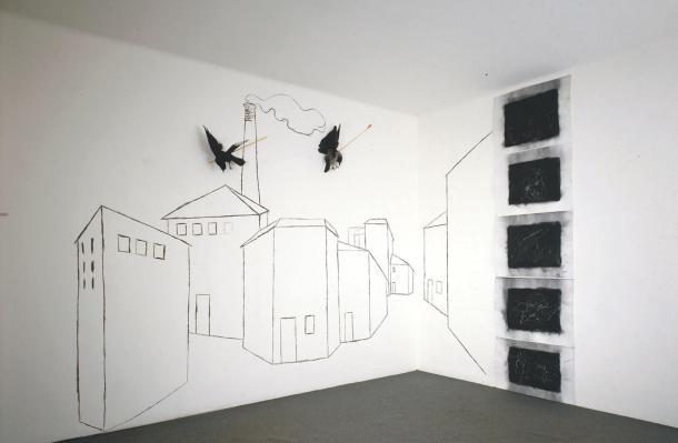 Untitled 1979 by Jannis Kounellis born 1936