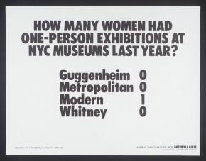 Art talks: From Guerrilla Girls to Pussy Riot and beyond