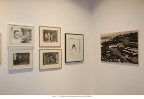 'Drawing inspiration' at the Evripides Gallery