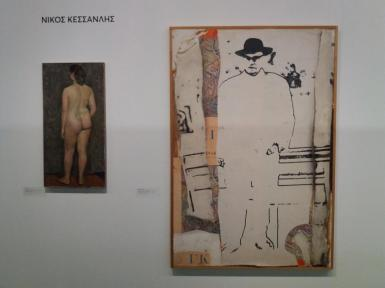 Works by Kessanlis at the Benaki