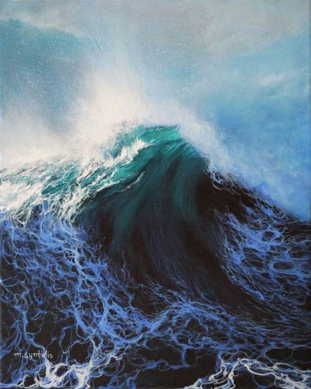 Marina syntelis 'The Storm II'