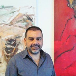"Dimitris Lazarou: ""Art is the imprint oflife"""